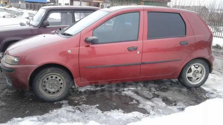 Fiat Punto, 2002 год, 135 000 руб.
