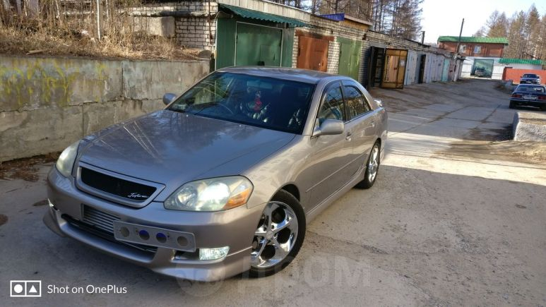 Toyota Mark II, 2002 год, 300 000 руб.