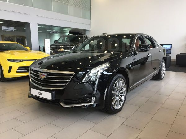 Cadillac CT6, 2017 год, 3 700 000 руб.