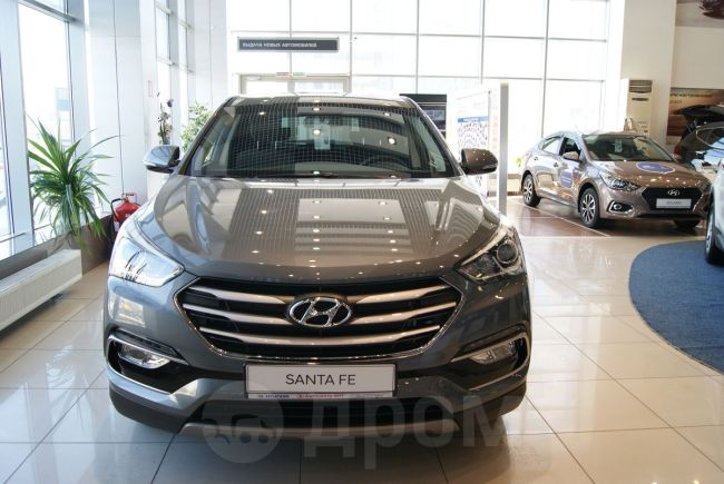 Hyundai Santa Fe, 2018 год, 1 879 000 руб.