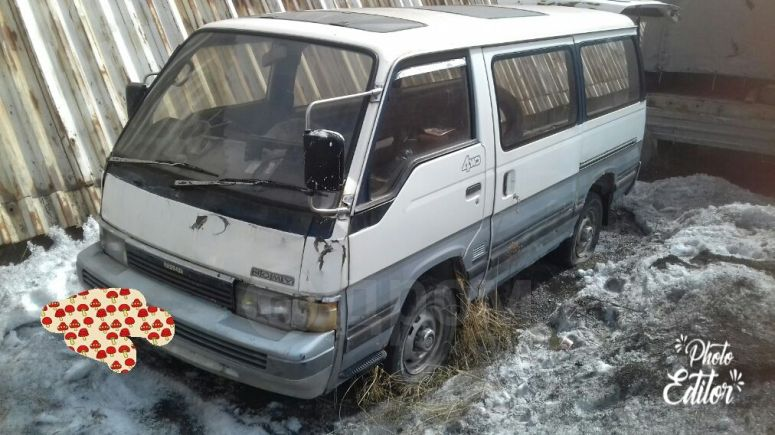Nissan Homy, 1988 год, 75 000 руб.