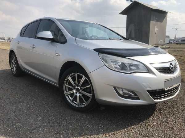 Opel Astra, 2011 год, 497 000 руб.