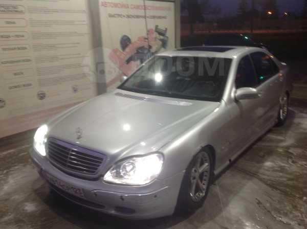 Mercedes-Benz S-Class, 2002 год, 255 000 руб.