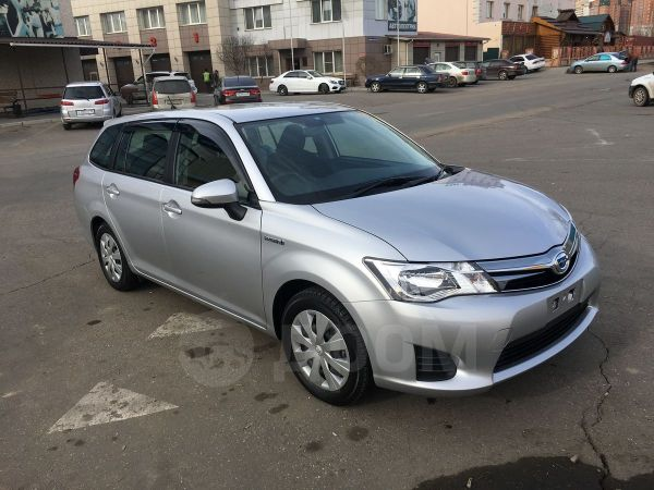 Toyota Corolla Fielder, 2015 год, 775 000 руб.