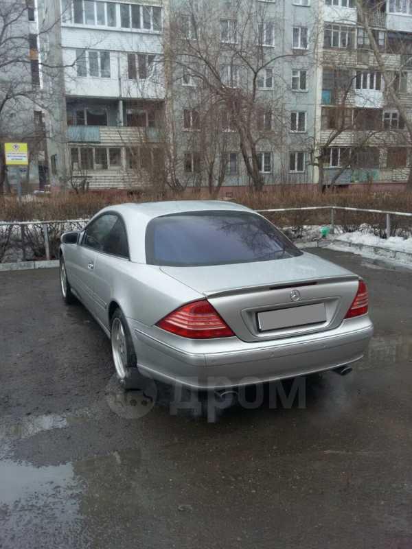 Mercedes-Benz CL-Class, 2001 год, 540 000 руб.