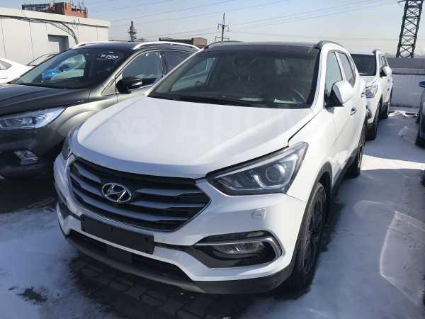 Hyundai Santa Fe, 2018 год, 2 138 000 руб.