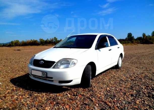 Toyota Corolla, 2002 год, 440 000 руб.