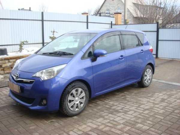 Toyota Ractis, 2011 год, 549 000 руб.