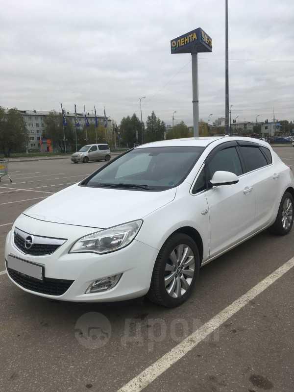 Opel Astra, 2012 год, 547 000 руб.