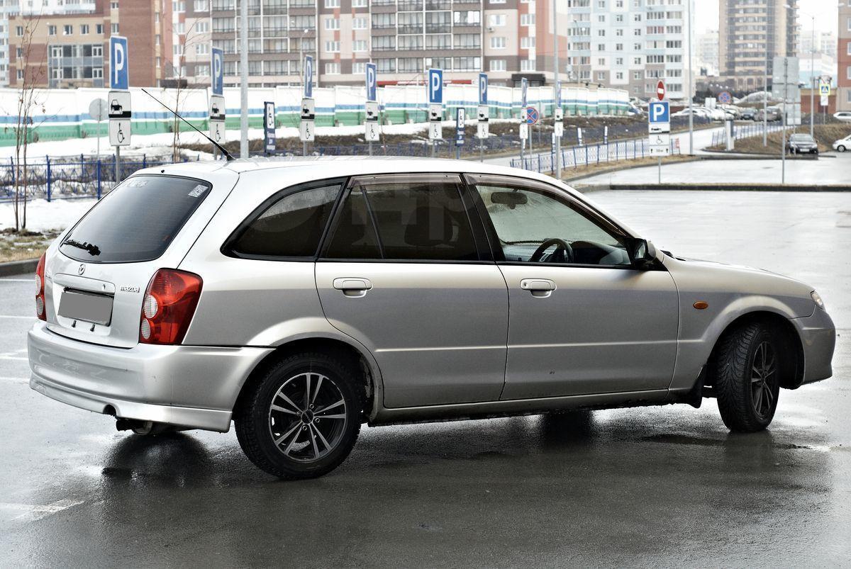 акпп mazda familia wagon