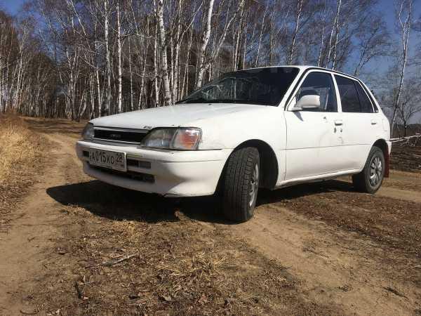 Toyota Starlet, 1991 год, 75 000 руб.