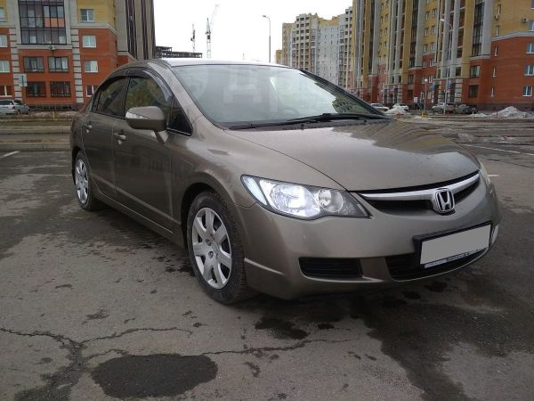 Honda Civic, 2008 год, 439 000 руб.