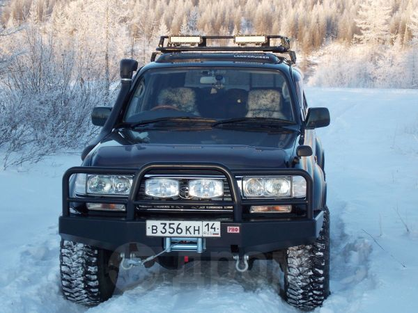 Toyota Land Cruiser, 1995 год, 1 250 000 руб.
