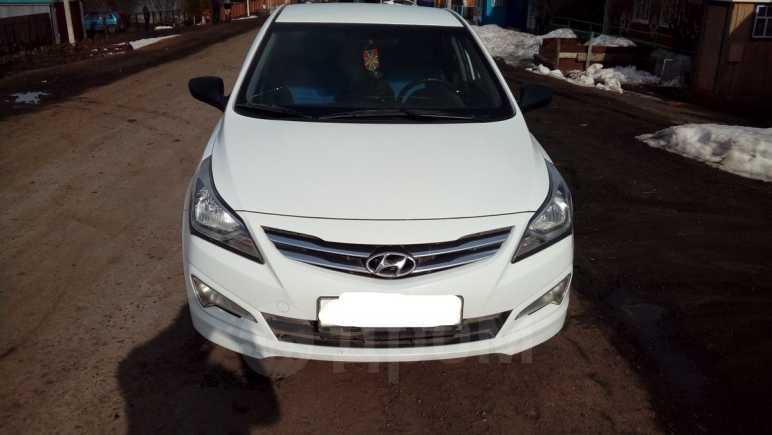 Hyundai Solaris, 2015 год, 525 000 руб.