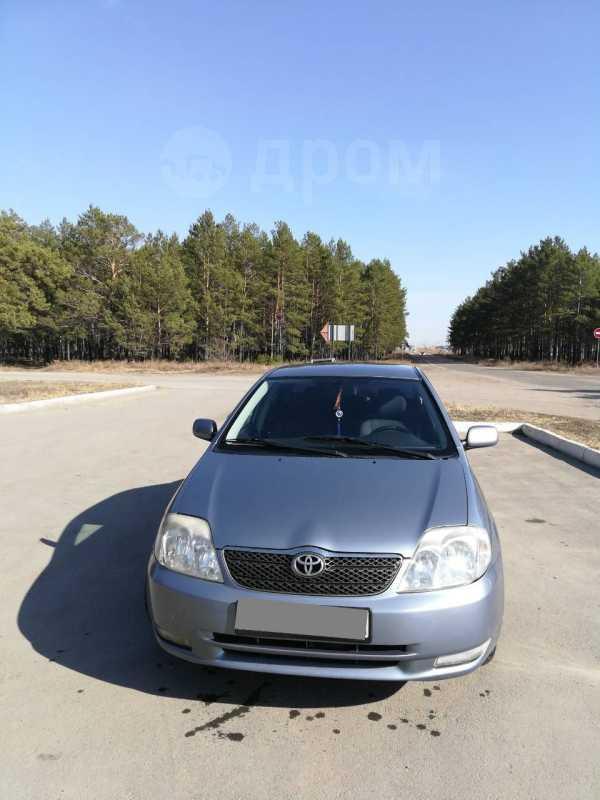 Toyota Corolla, 2004 год, 375 000 руб.