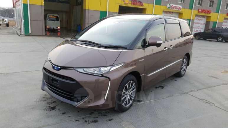 Toyota Estima, 2017 год, 1 820 000 руб.