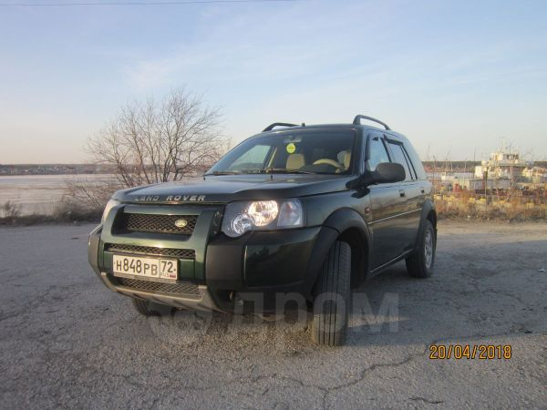 Land Rover Freelander, 2003 год, 430 000 руб.