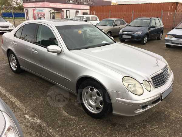 Mercedes-Benz E-Class, 2003 год, 387 000 руб.