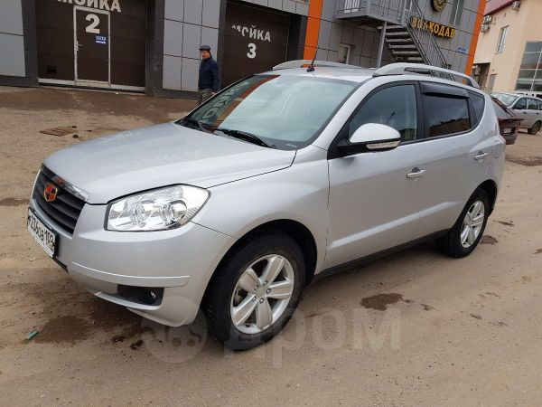 Geely Emgrand X7, 2014 год, 537 000 руб.