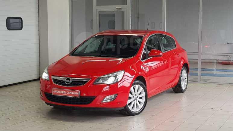 Opel Astra, 2011 год, 535 000 руб.