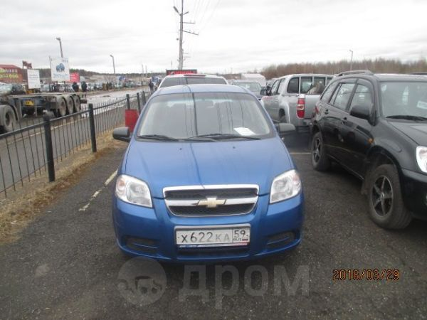 Chevrolet Aveo, 2008 год, 239 000 руб.