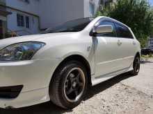 Геленджик Corolla Runx 2005