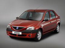 Dacia Logan 2004, седан, 1 поколение