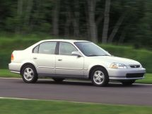 Honda Civic 1995, седан, 6 поколение, EJ