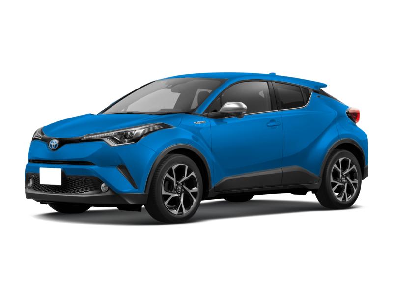Toyota C-HR, 2018 год, 1 300 000 руб.