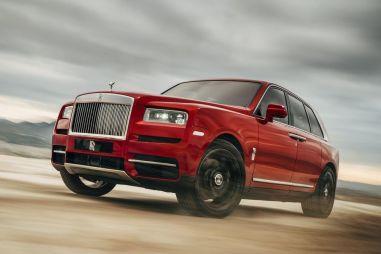 Кроссовер Rolls-Royce Cullinan представили официально
