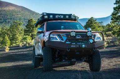 Nissan разработал экспедиционную версию внедорожника Patrol