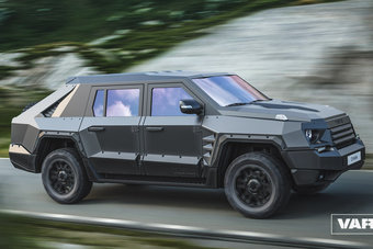РИДА Варвар будет оснащаться 5,7-литровым мотором Toyota I-Force.