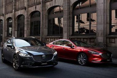 У Mazda Atenza появился 2,2-литровый дизель с двойным турбонаддувом