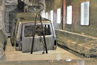 Внедрение нового грунта — часть программы мероприятий по повышению качества продукции УАЗа.