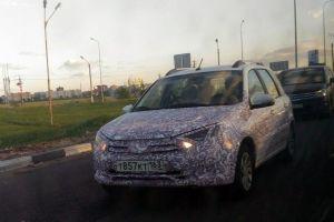 В Тольятти засняли прототип универсала Lada Granta