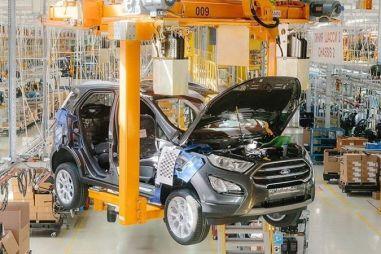 В Набережных Челнах запустили производство обновленного Ford EcoSport