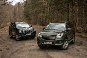 Сравнительный тест Toyota Land Cruiser Prado и Haval H9. «Поясни за шмот»