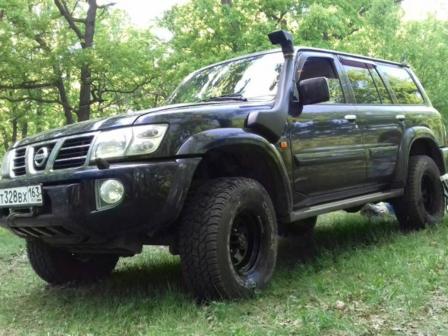 Nissan Patrol 2003 - отзыв владельца