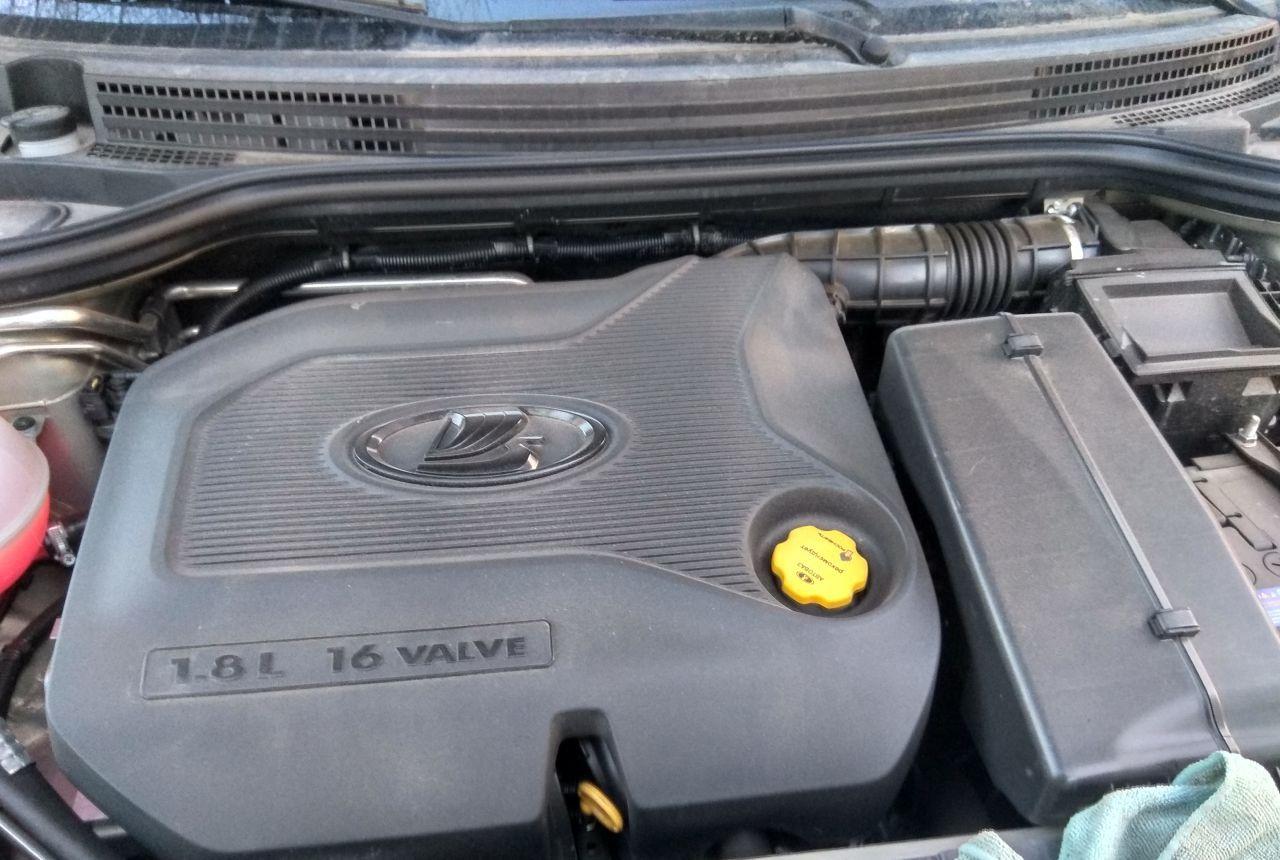 двигатель после периода лютой грязи