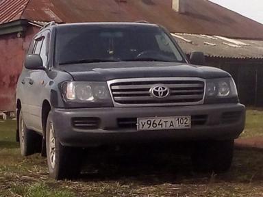 Toyota Land Cruiser 2004 отзыв автора | Дата публикации 04.02.2018.