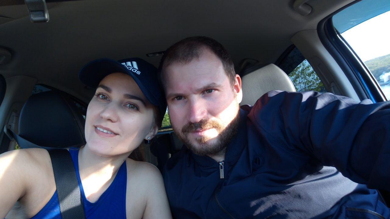 Я с женой в Везел