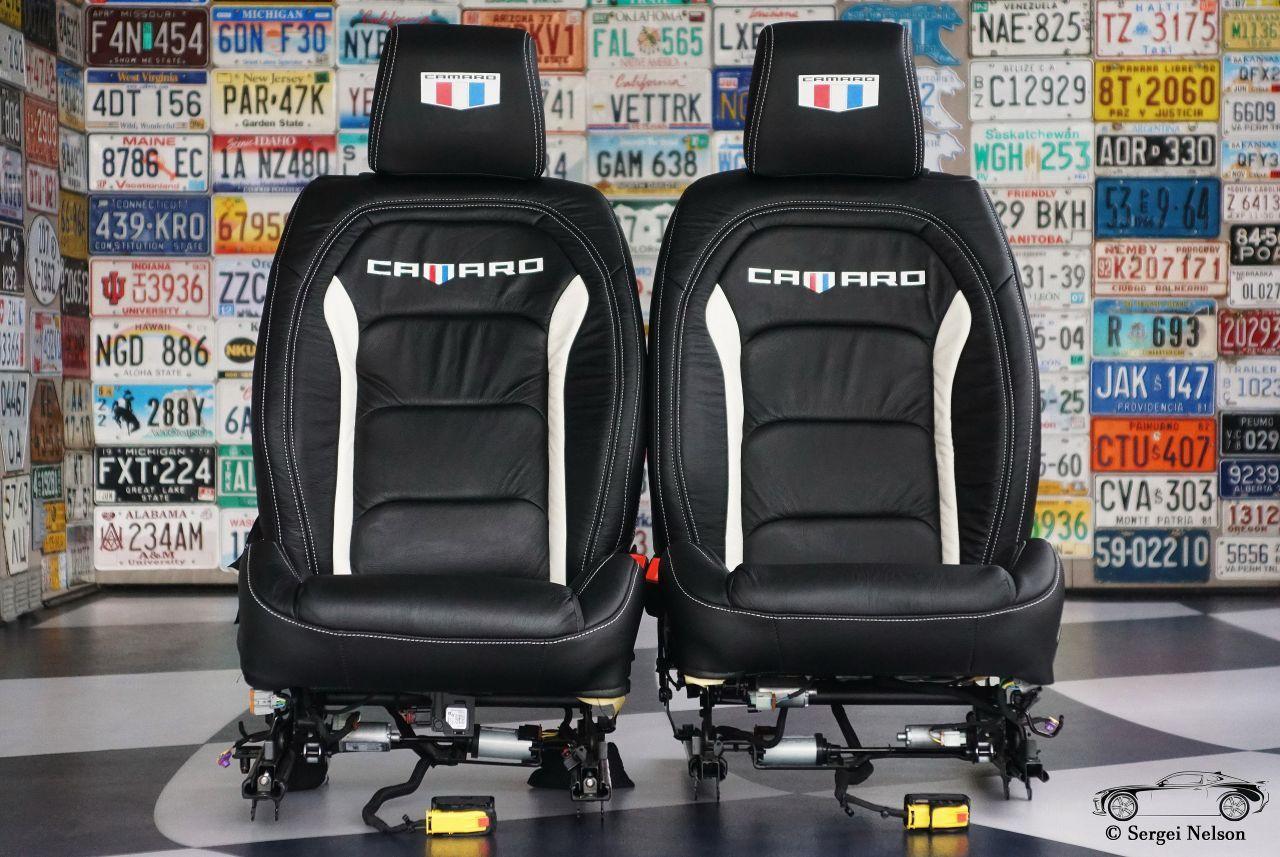 Оба сидения готовы к установке!