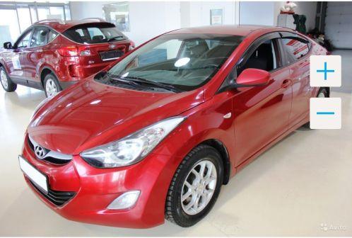 Hyundai Elantra 2011 - отзыв владельца