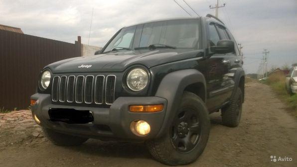 Jeep Liberty 2002 - отзыв владельца