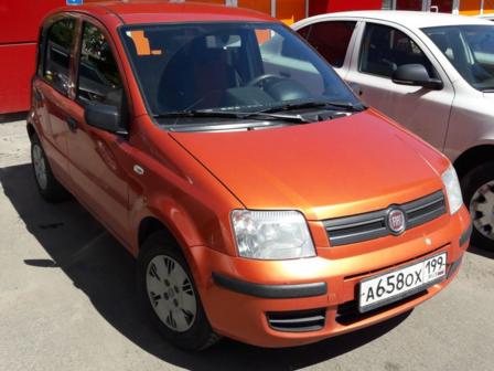 Fiat Panda 2008 - отзыв владельца