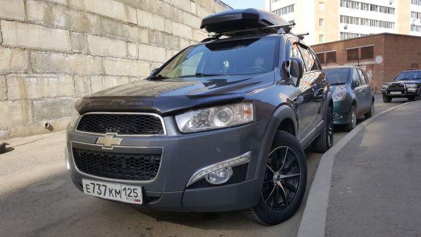 Chevrolet Captiva 2011 - отзыв владельца