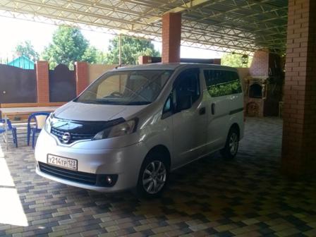 Nissan NV200 2012 - отзыв владельца