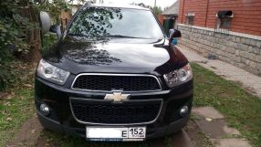 Chevrolet Captiva, 2012