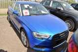 Audi A3. СИНИЙ КРИСТАЛЛ, (ARA BLUE)