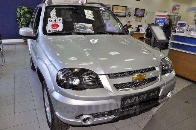 Chevrolet Niva, 2018 год, 740 500 руб.